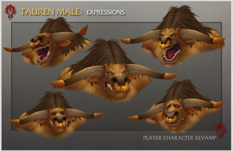 You Have To See The Amazing New World Of Warcraft Male Tauren