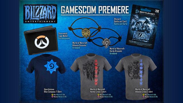 Gamescom New Blizzard Entertainment Gear Reveal
