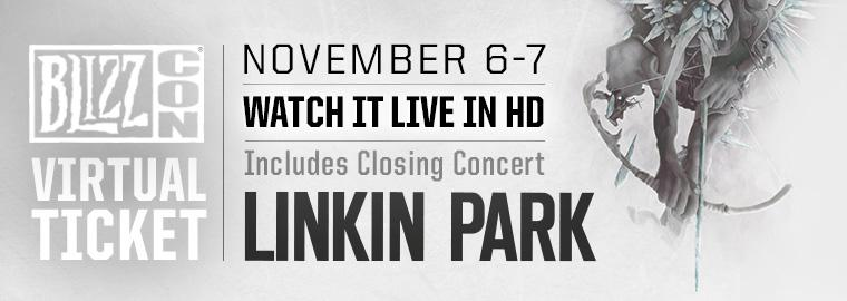 Linkin Park plans to rock out at BlizzCon 2015 Closing Ceremony!
